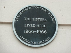 Photo of The Sisters black plaque