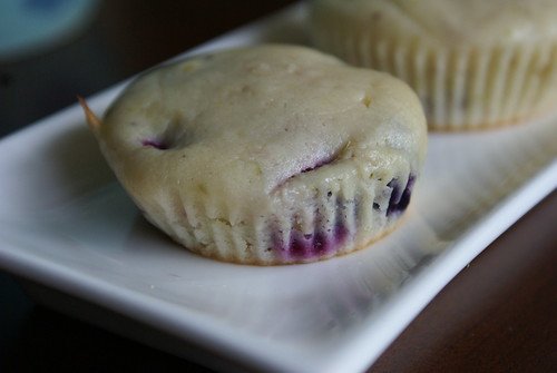 blueberry lime cakes