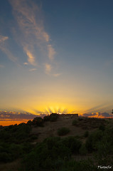 tramonto sull'antico ovile (Photoefix) Tags: rovine tramonto sardegna cielo estate macchiamediterranea