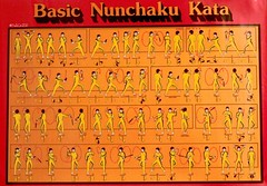 'Basic Nunchaku Kata'  - Poster (Sacker Foto) Tags: camera poster japanese photo stock chinese picture martialarts swing kungfu shooting selfdefense brucelee choreography moves freelance footwork maneuver nunchaku nunchuks stances fightingstyle karatestyle manuveaur sackerfoto sackerphoto scottsacker scottsackerphotography