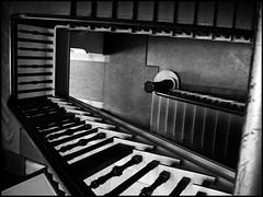 Berlin staircase (sulamith.sallmann) Tags: bw berlin architecture stairs deutschland interior innenarchitektur treppe staircase architektur sw innenraum deu hausflur stufen stufe treppenhaus innenrume sulamithsallmann