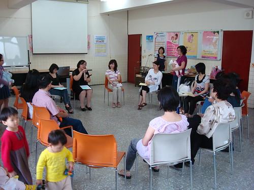 大安健康服務中心母乳支持團體聚會