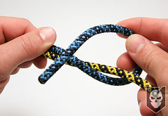 Double Fisherman's Knot 03 (ITS Tactical) Tags: climbing knots itstactical imminentthreat