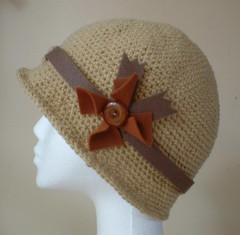 madam caramello cloche hat (baboom_b) Tags: hat crochet caramel camel flapper latte cloche 1920sstyle