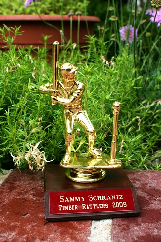 Sammy's T-Ball Trophy