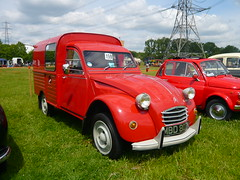 1972 Citroen 2CV AK400 Van (Trigger's Retro Road Tests!) Tags: photos citroen 2cv van 1972 essex 2009 colchester rallye olde tyme aldham