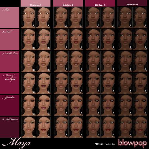 Maya - Makeup Grid