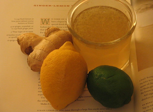 Ginger-Lemon/Lime Drink. IMG_2587