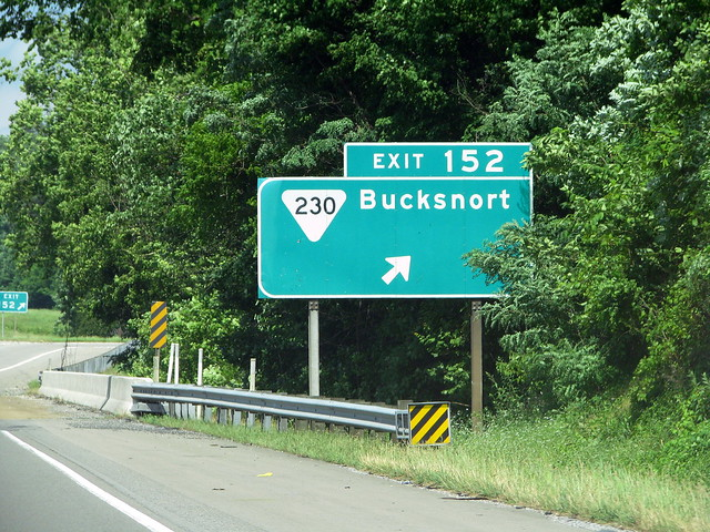Bucksnort exit