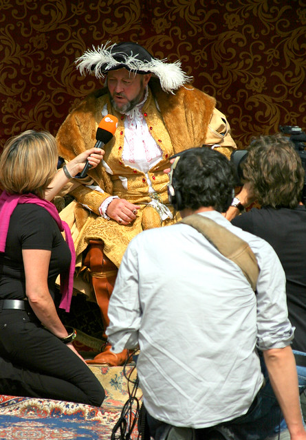 Henry VIII was interviewed