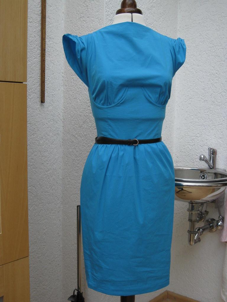 Resi blaues BV Kleid Herbst 0933