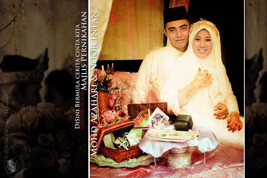 Azhari & Intan (Majlis Pernikahan)