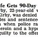 George Kirby's Wife Sarah Kirby Gets 90 Day Heroin Possession Sentence - Jet Magazine, June 4, 1953