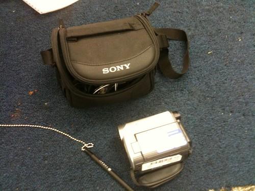 Sony DV camcorder