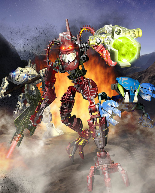 Bionicles by Head First (Dom)