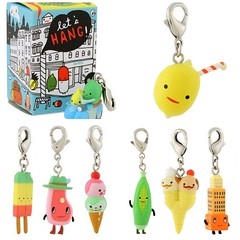 let's hang! zipper pulls (iheartkitty) Tags: cute kawaii charms zipperpulls