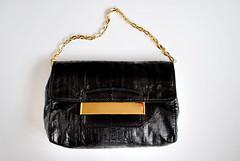 Jimmy Choo (Lucyann Barry) Tags: black bag gold choo eel jimmychoo