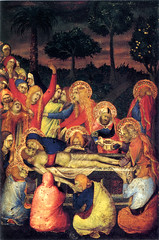 Simone Martini, Entombment of Christ