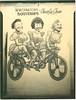 Cutout - three riders
