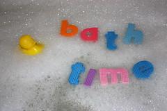 baby bath time blues