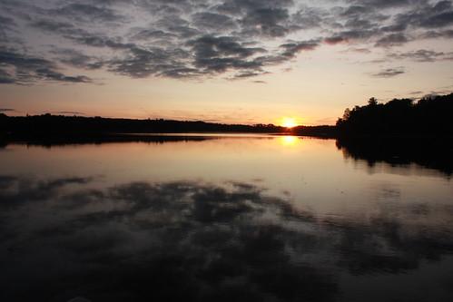 Hart Lake Sunset