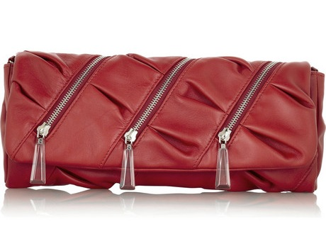 christian louboutin pillow clutch
