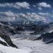 Jungfraujoch and the Aletsch Glacier