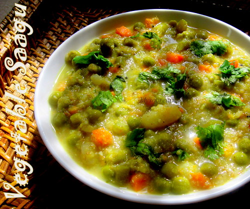 Vegetable Saagu
