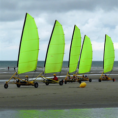 Ballet (vat_i_can) Tags: beach yellow clouds sand sailing sails yachting platinumheartaward 100commentgroup
