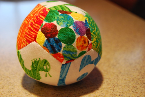 Paper Pieced Patchwork Ball