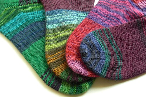 Mary Maxim Gemstone socks-singles-1