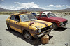 Chile (Krzysztof Kobus) Tags: chile old mountains cars lpdamaged