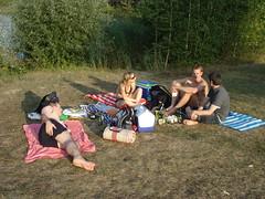 Farewell Picknick am kleinen Weiher (dragonwelp) Tags: schwimmen sommer 2009 kleiner picknick weiher