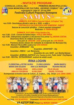 Festivalul culturii populare Somesene