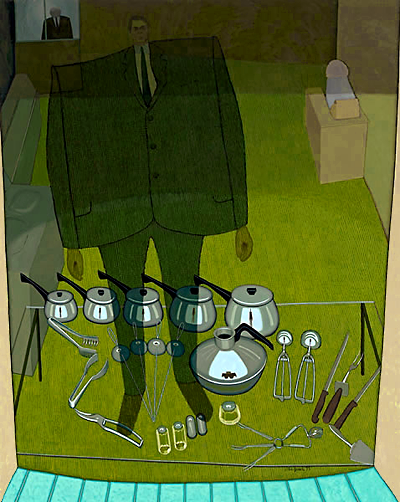 John Brack_Inside and outside (The shop window)_1972_400