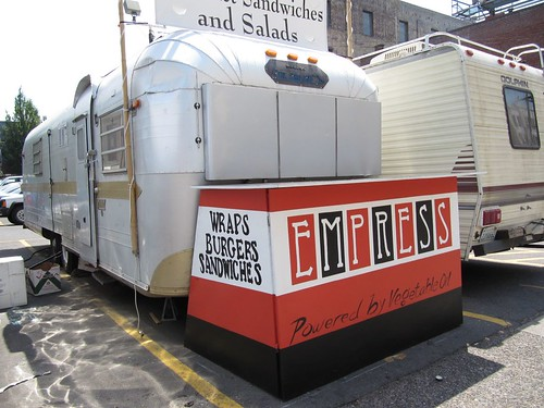 cool food trailer