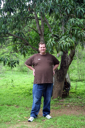 Mazatlan Pottery Stop - Mike under the Mango Tree