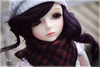 Aimée on a gloomy day