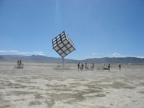 cube at day