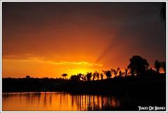 Sunset 2 (Tiago De Brino) Tags: sunset pordosol sky sun sol nikon céu cielo sole d90