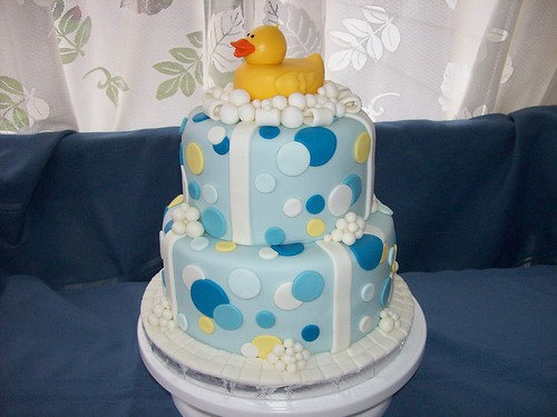 Rubber Ducky Cake 03
