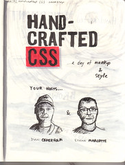 Handcrafted CSS sketchnotes 1 (Jason Robb) Tags: notes sketches hcss sketchnotes handcraftedcss