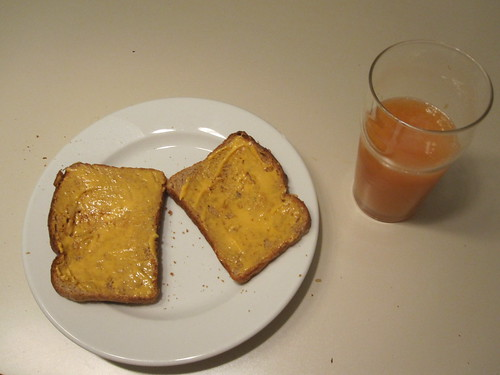 Toast and juice