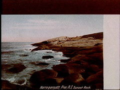 a1774 (Providence Public Library) Tags: narragansett postcardcollection sunsetrock narragansettpier narragansettpierri rhodeislandimages pc7524