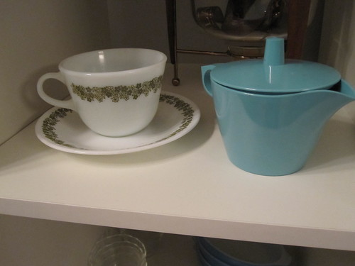 Spring Blossom cup with saucer