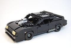 Mad Max Interceptor (lego911) Tags: auto ford hardtop car model lego australian falcon gt madmax xb v8 lugnuts interceptor moc