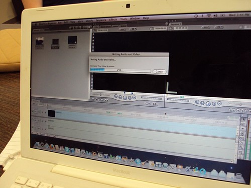 Exported movie on the way!