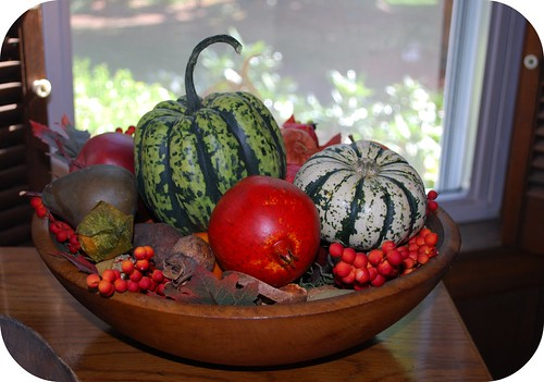 Autumn bowl