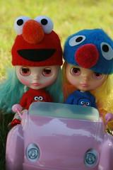 Sadie True and Raya decide to try 4 wheelin.....