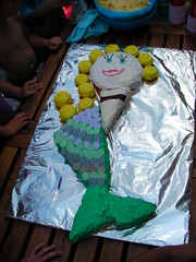 Eat her before she swims away!! (MauiJava) Tags: birthday cake mermaid brogan